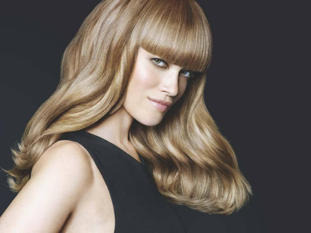 Schwarzkopf partenaire de prestige du salon de coiffure sable blond